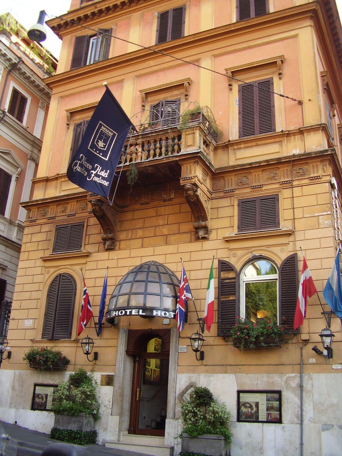 Nuovo Hotel Quattro Fontane, Roma, Itàlia 12 al 15/08/2008