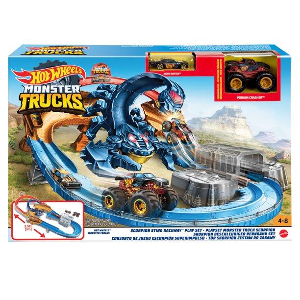 Hot Wheels Monster Truck Scorpion Sting Raceway Walmart Com Monster Trucks Hot Wheels Monster