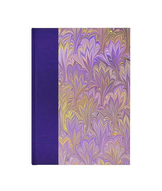 """Fabulous cover on this Journal Book w/lined paper """"ULTRA VIOLET"""" for the writer/poet muse! just $25"""