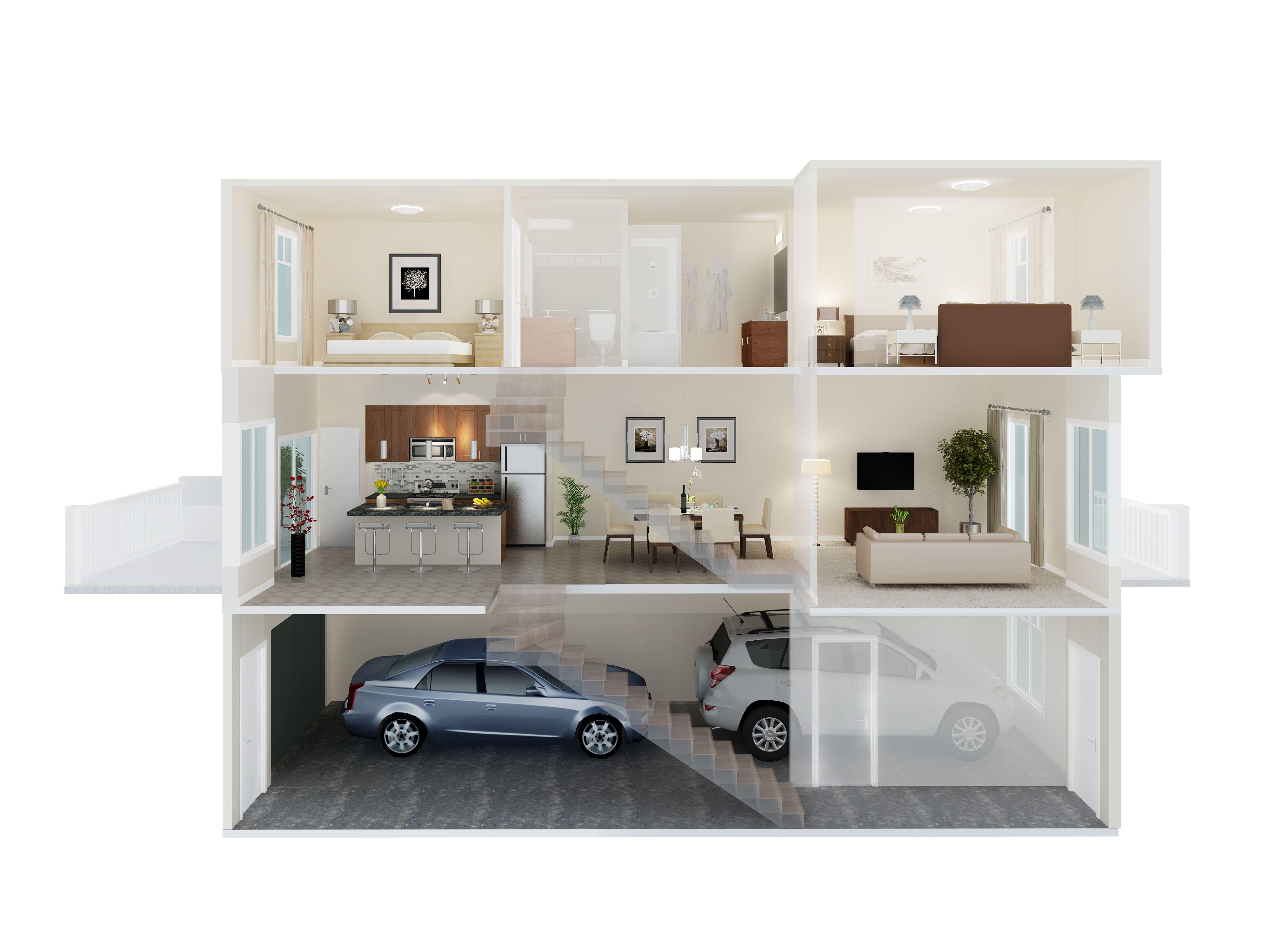Streetside S Side Split Floor Plan In Kintalla At Redstone Www