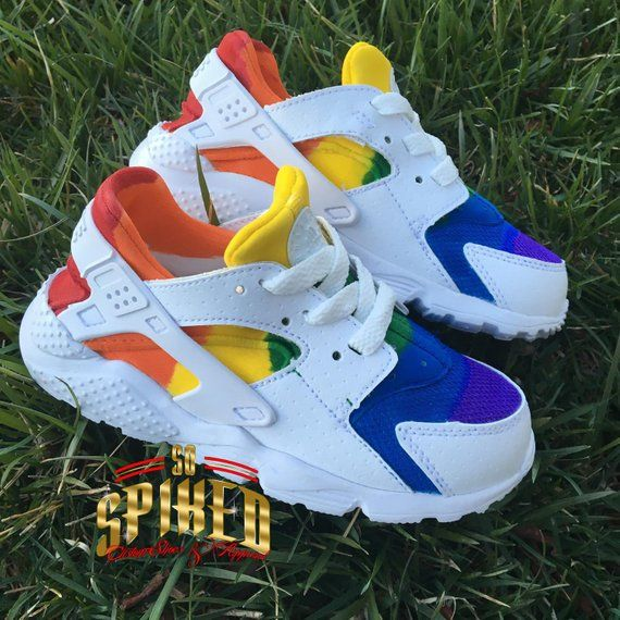 new images of stable quality outlet store sale Custom Nike Huaraches -Big Kids/Women in 2019 | Nike ...