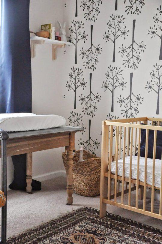 Charlotte's Stunningly Stencilled Nursery