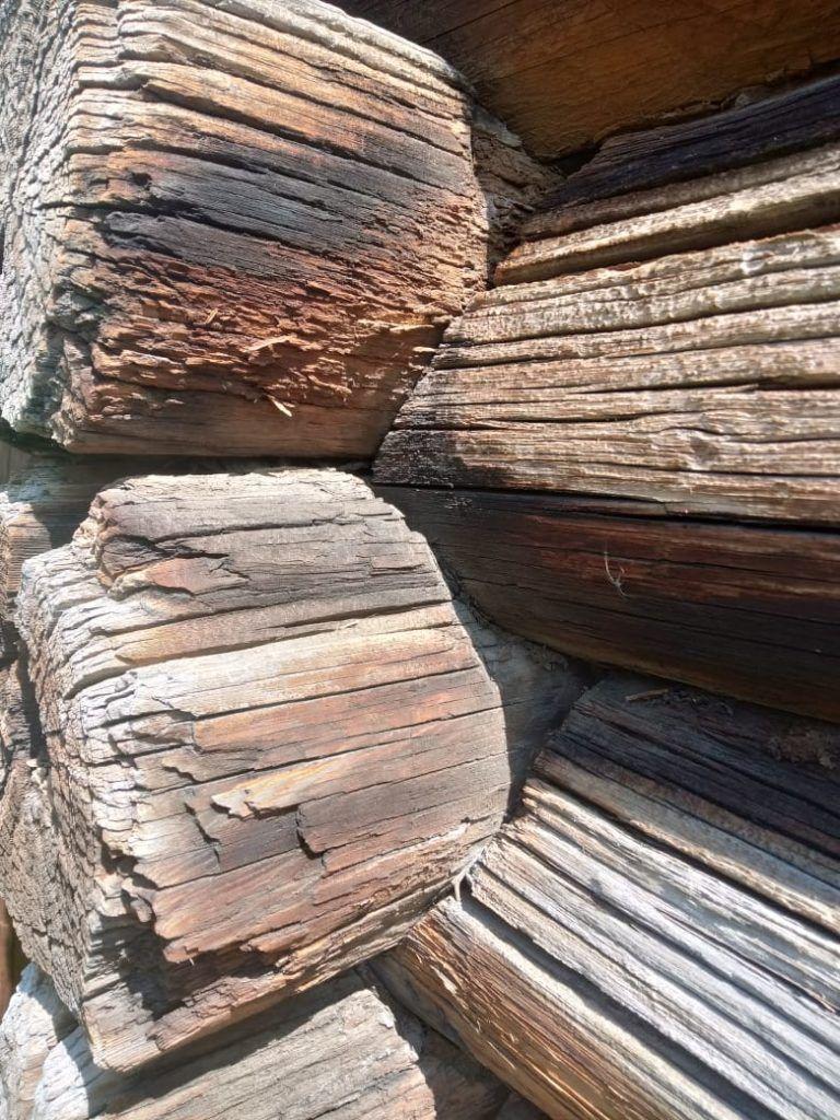 Reclaimed wood Siberia lake Baikal 19th century #reclaimedwood