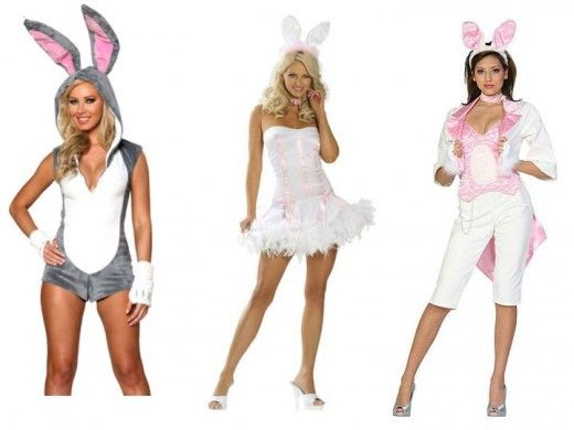 EASTER BUNNY RABBIT MENS WOMENS ADULT COSTUME