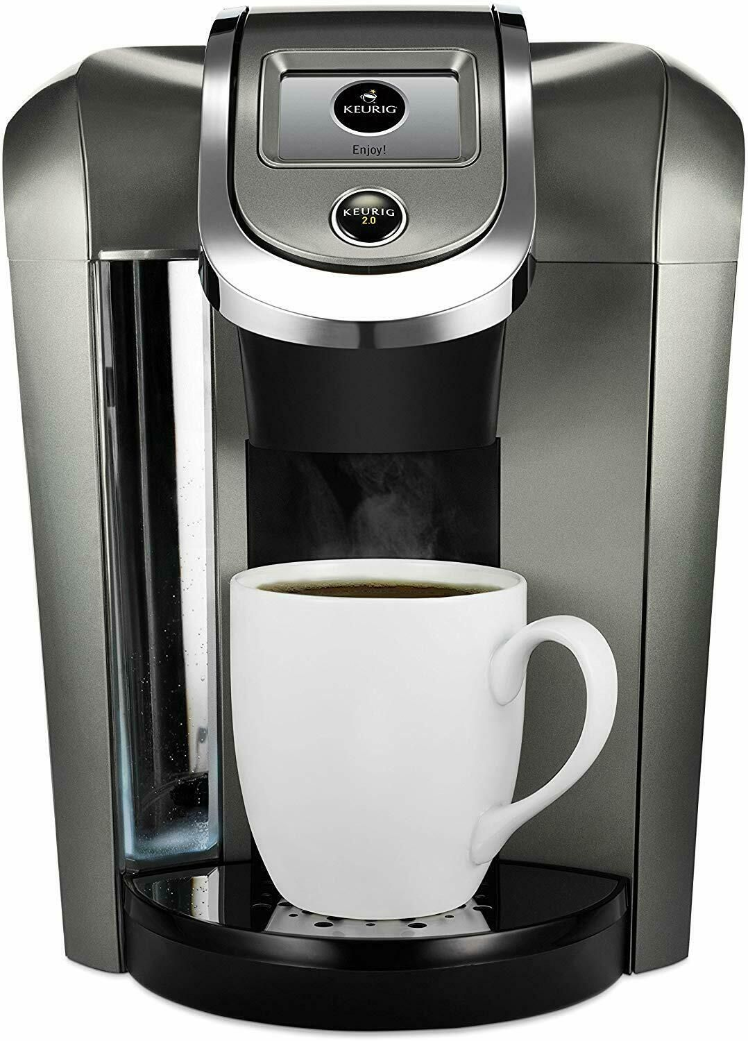 Details About Keurig K500 Coffee Maker Single Serve 2 0 Brewing System Platinum In 2020 With Images Single Serve Coffee Makers Keurig Coffee Makers Single Coffee Maker