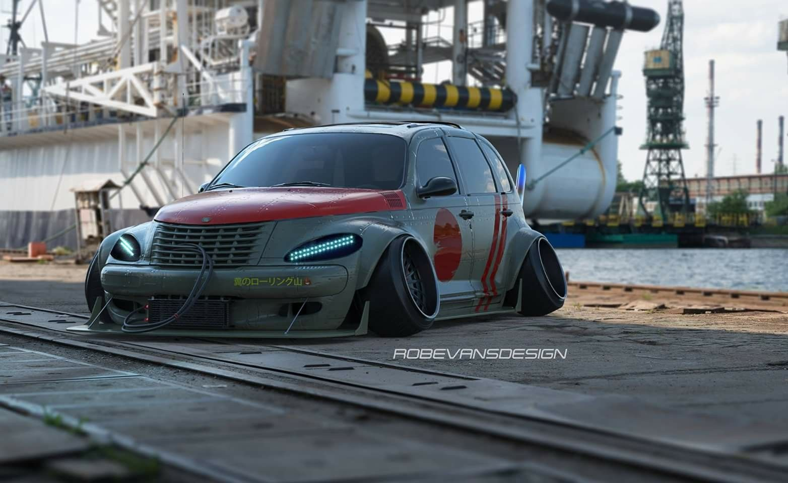 Chrysler PT Cruiser, Tuning, Rain Prisk Design, GT 5, RPD | Cars ...