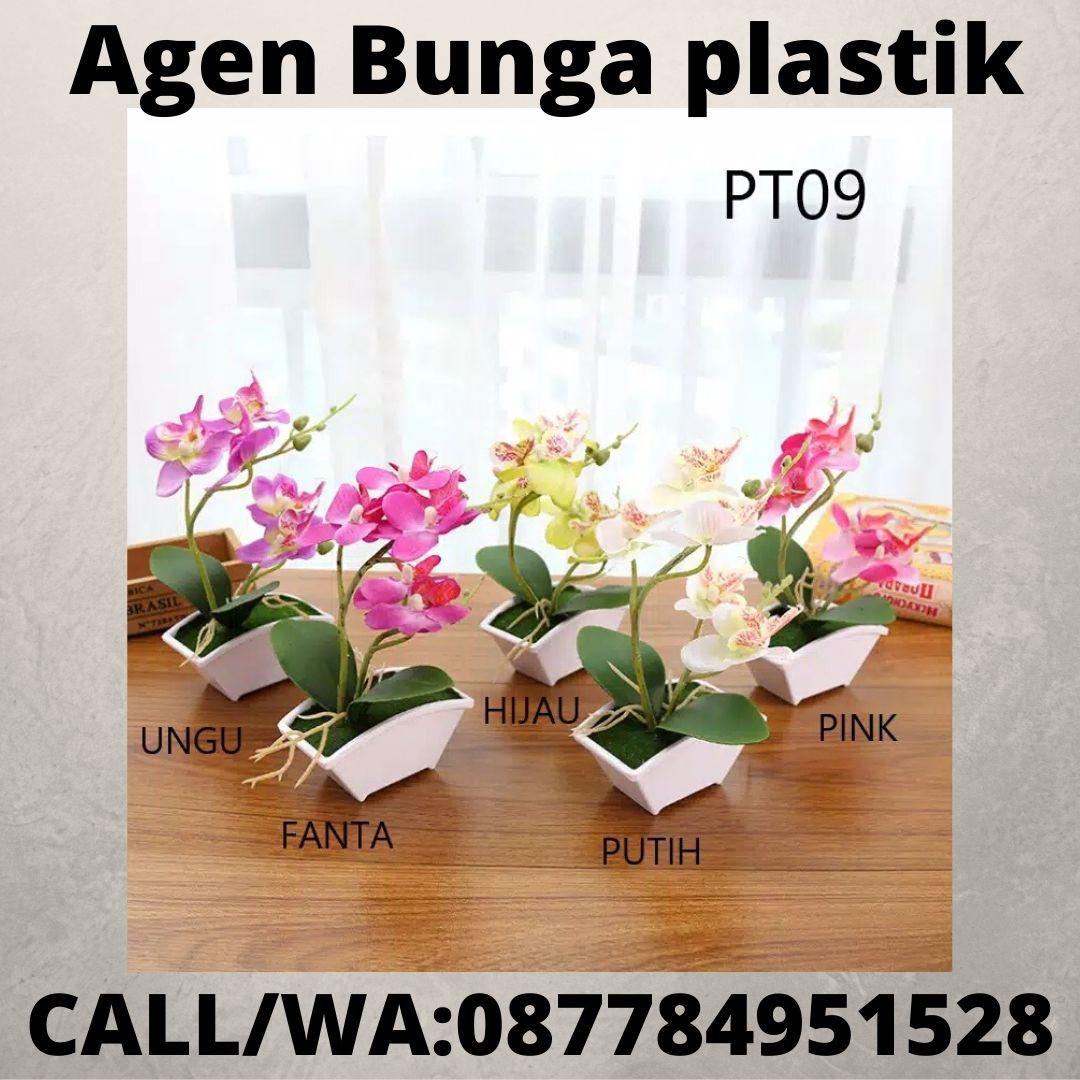 Bunga Plastik Pot Kecil Bunga Plastik Palembang Bunga Plastik