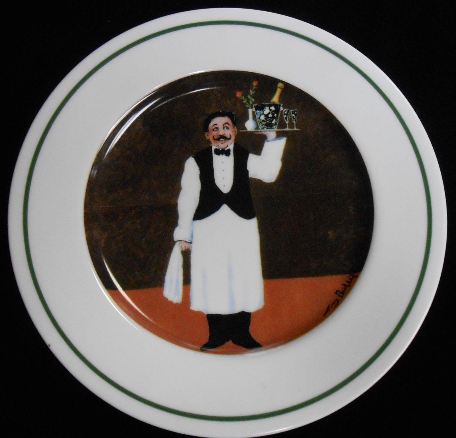 Set 2 Williams Sonoma Guy Buffet Sommelier Pattern Salad Plates | eBay