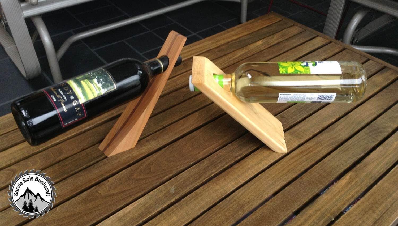 Fabriquer Casier À Bouteilles En Bois comment construire un porte bouteille de vin en bois magique