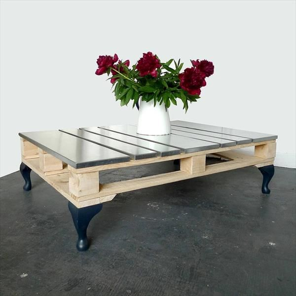 10 Diy Pallet Furniture Ideas Diy Pallet Furniture Steel Coffee Table And Pallet Furniture