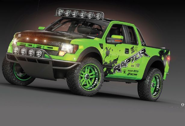 Would Love This Love There Green And Black Paint Ford Raptor