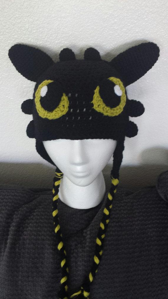 Dragon Crochet Hat Pattern   Crafts   Pinterest   Toothless, Crochet ...