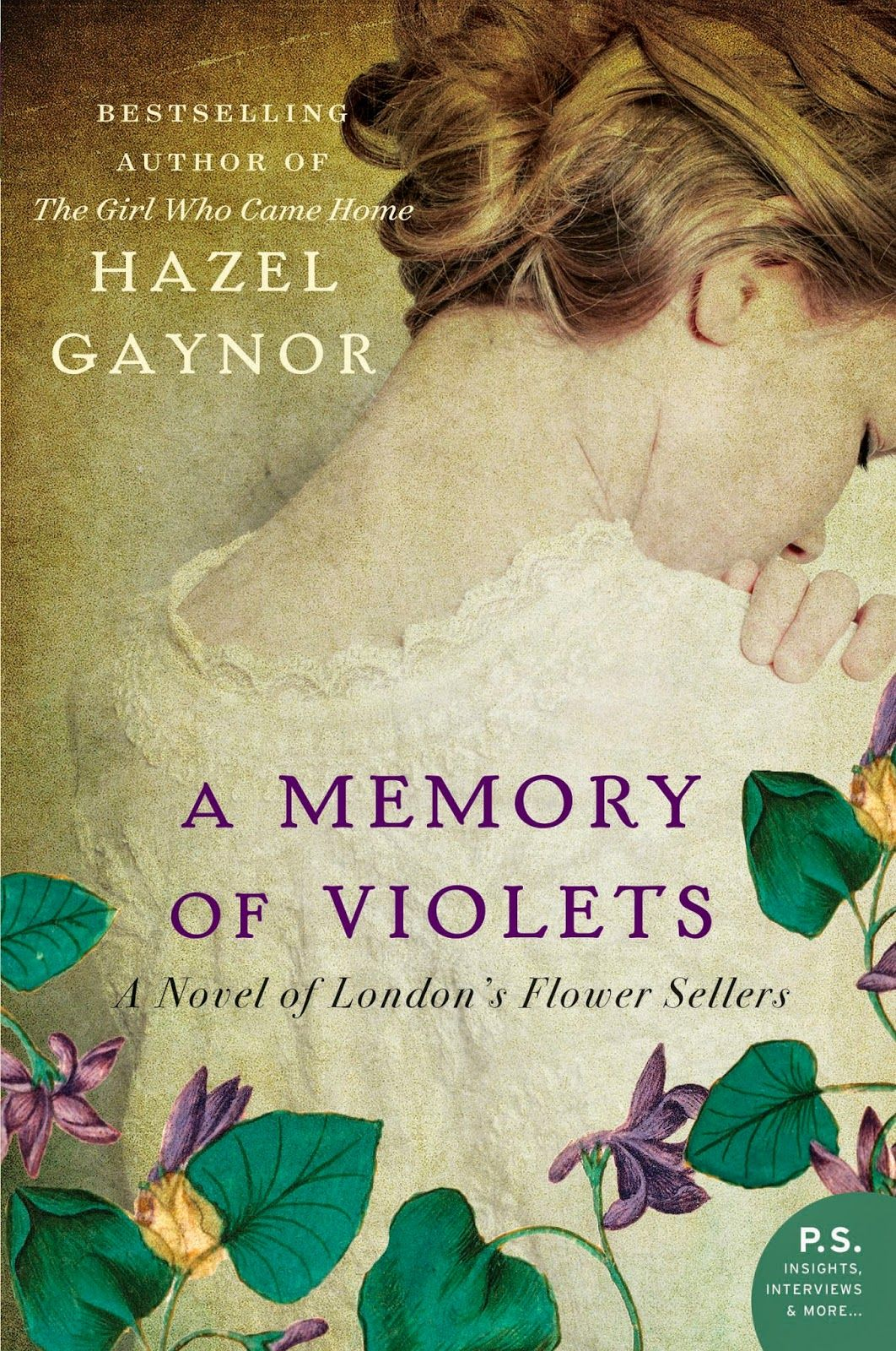"""A Memory of Violets"" (Hazel Gaynor) ★★★★★ with GIVEAWAY"