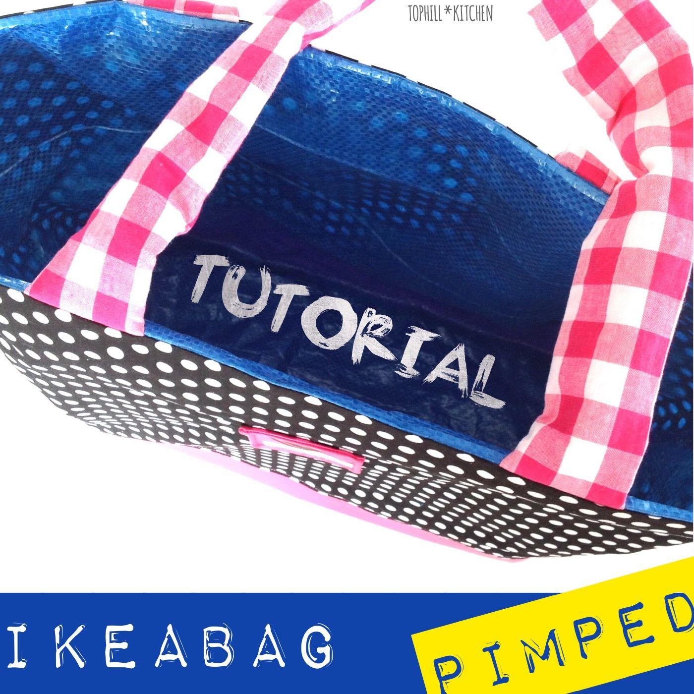 Photo of #Ikeatasche pimpen mit Anleitung und Muster #tutorial #ikeabag