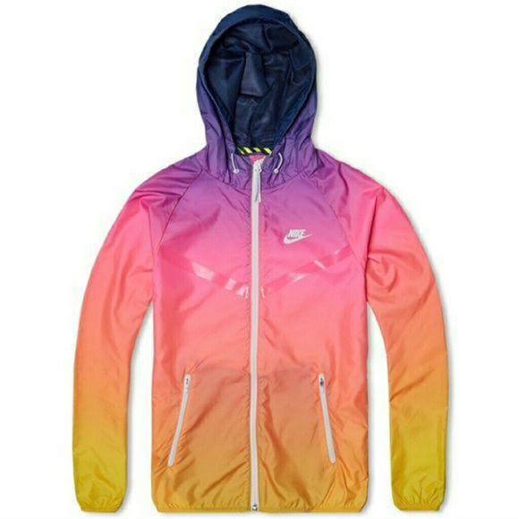 e1138fc74 ISO PLEASEEEE ! Nike sunset windbreaker Nike Jackets & Coats | My ...