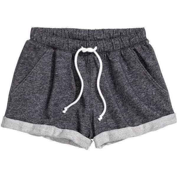 black shorts comfy