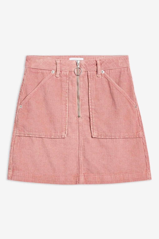 46fc5c3161d7e Corduroy Zip Skirt in 2019   style   Skirts, Corduroy skirt, Corduroy
