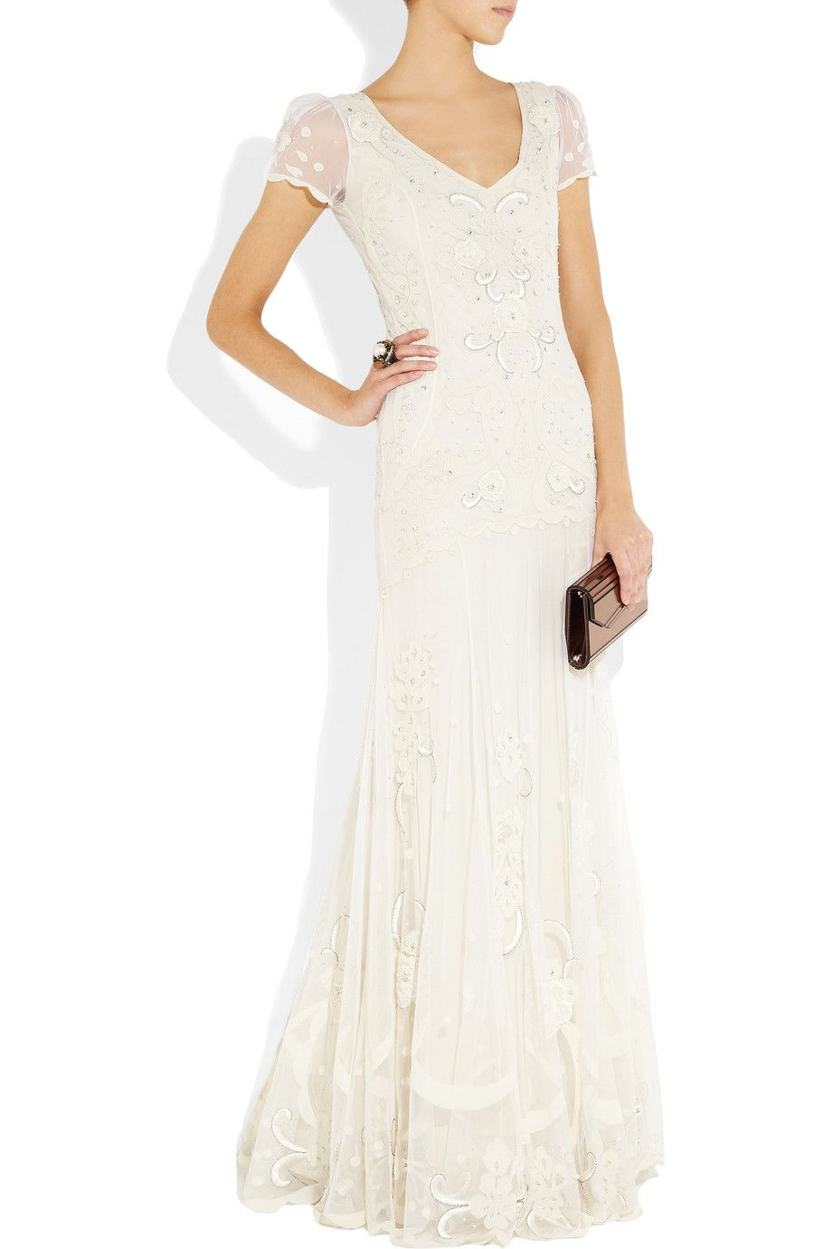 Alice temperley wedding dresses  Oh Alice how I love thee Temperley London long Elisha gown