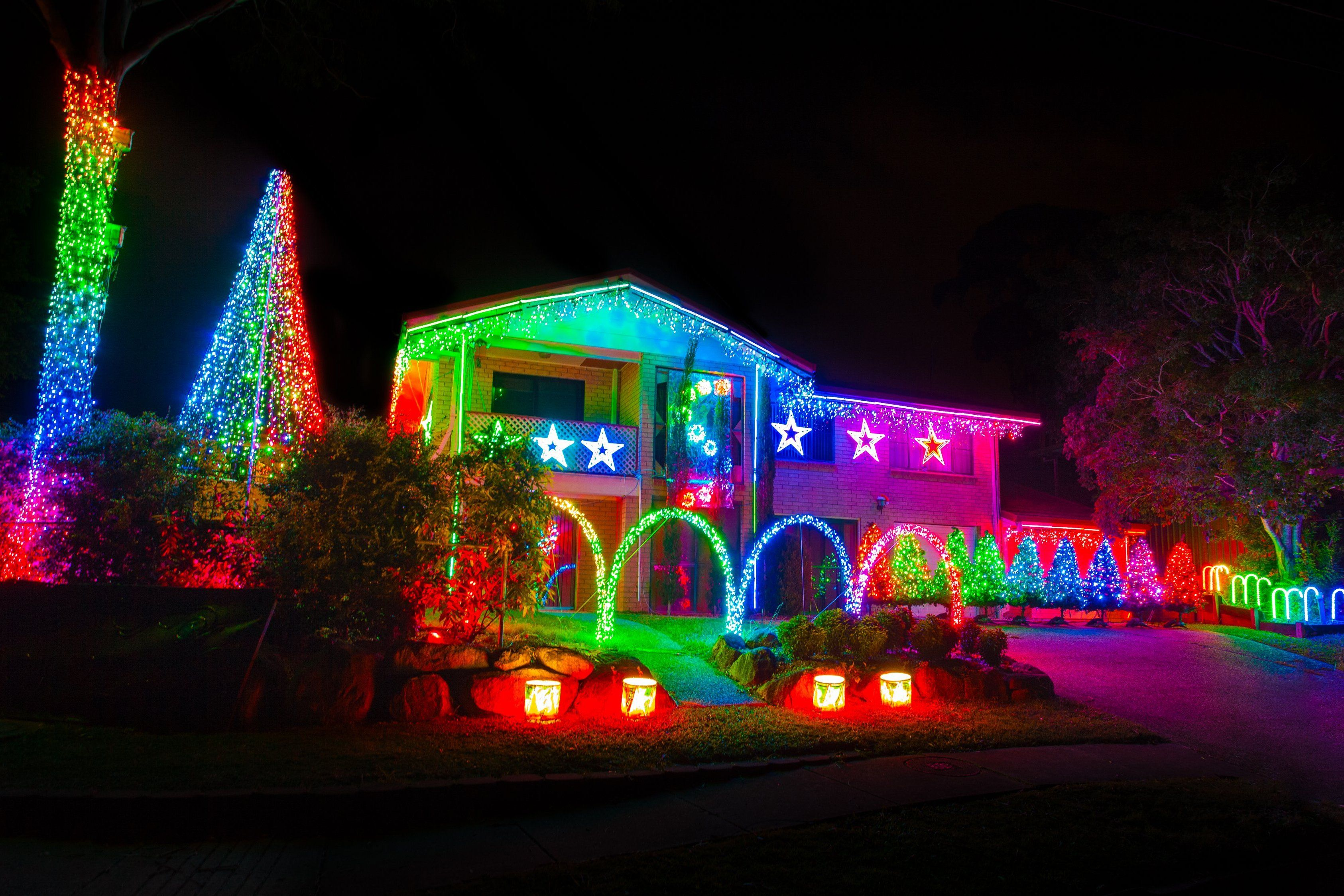 outdoor christmas display ideas Google Search Outdoor