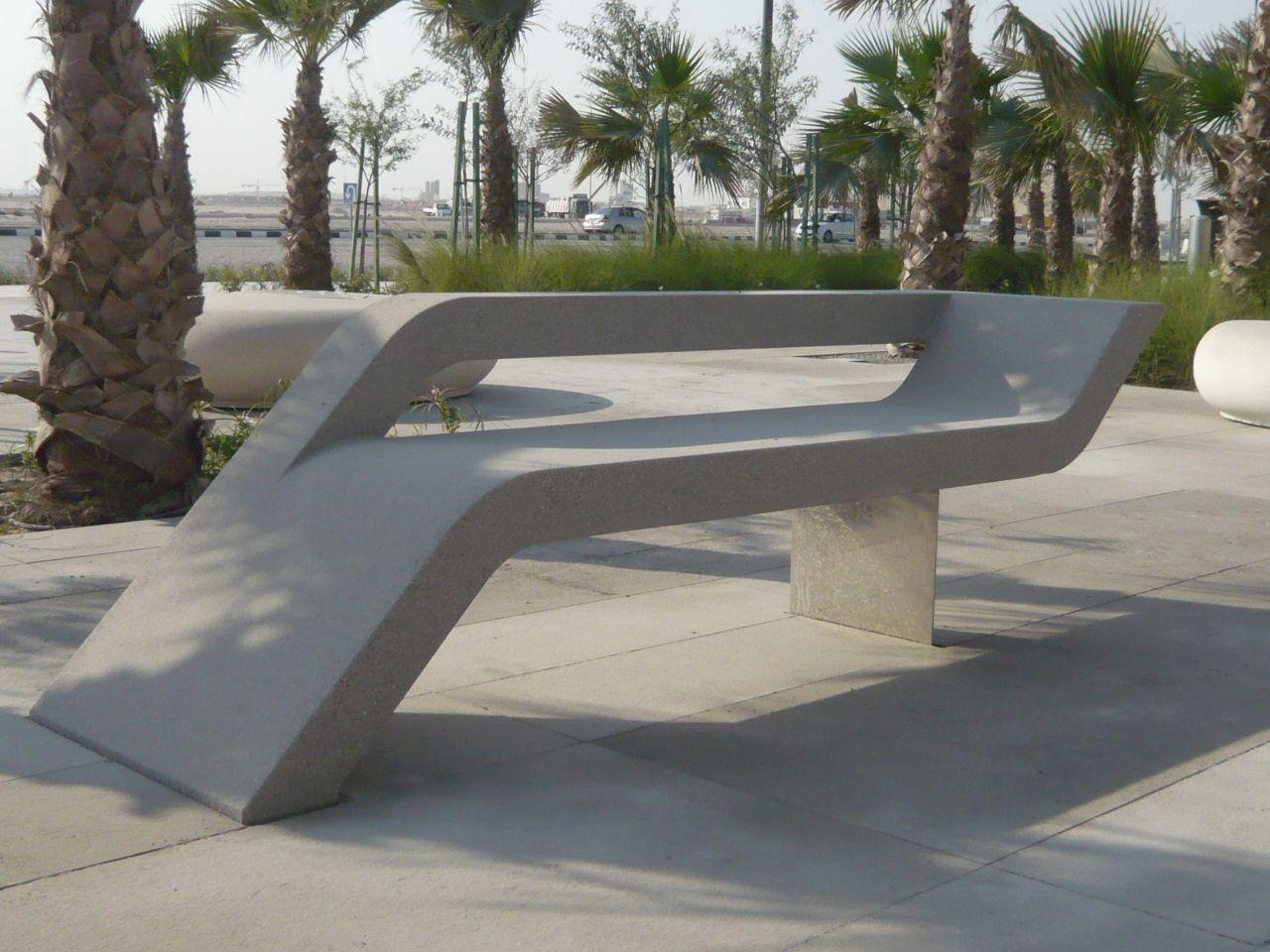 Street Furniture | STREET FURNITURE IN LUSAIL, QATAR | Dna Barcelona U0026  Partners