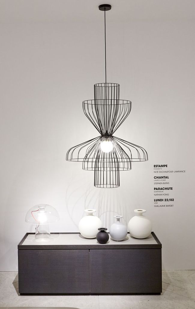 The Modular Parachute Suspension Lamp By Nathan Yong For