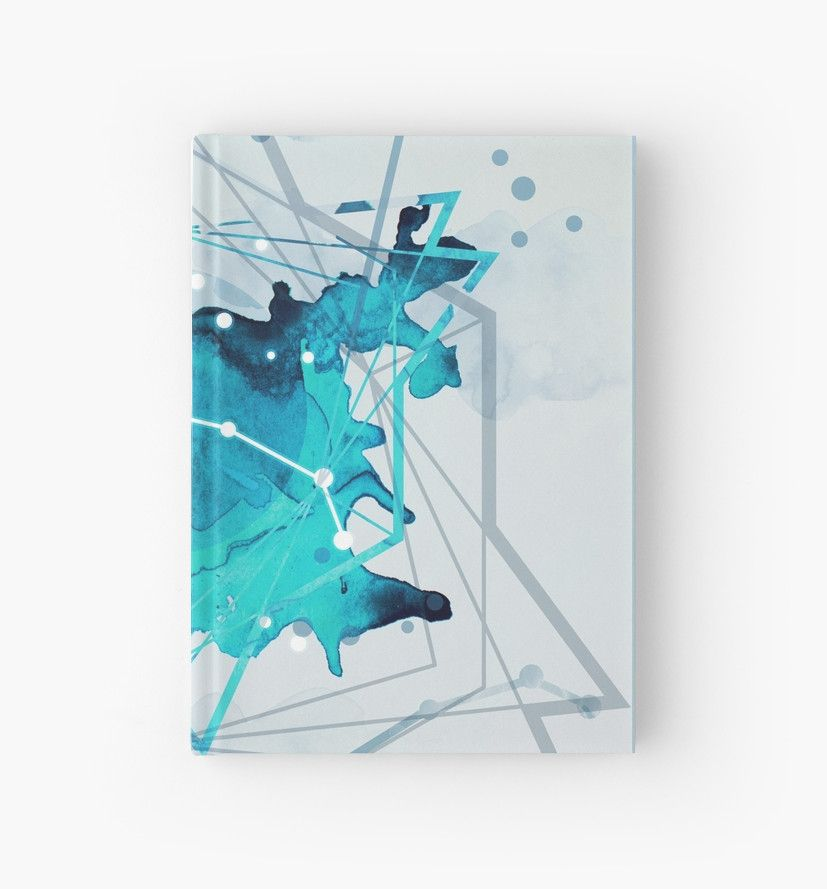 Constellation Set - March Aries / Aquamarine\u0027 Hardcover Journal by