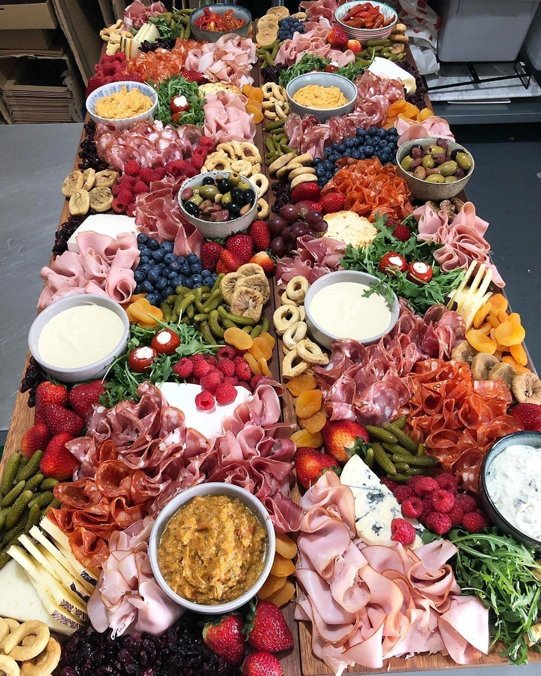 Vj Food On Instagram Tag Your Foodie Bff This Stunning Grazing Table By Roccos Delicatessen Is Calling F In 2020 Bridal Brunch Food Food Platters Grazing Tables