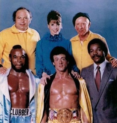 The Cast Of Rocky 3 Rocky Film Carl Weathers Sylvester Stallone