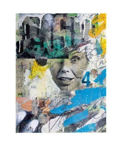 Numéro 164   1968 Peinture, crayon bic, crayon papier, bombe de - bombe de peinture aluminium