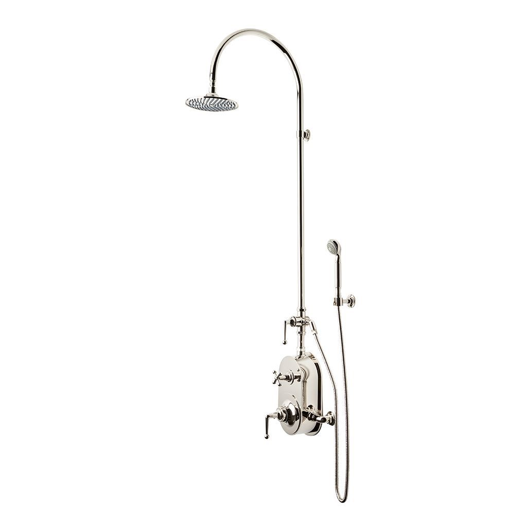Dash Exposed Thermostatic Shower System with 8\