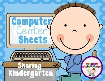 Computer Center Sheets: These are FABULOUS! My kinders can use them and not ask me for help on the computers all center time long!