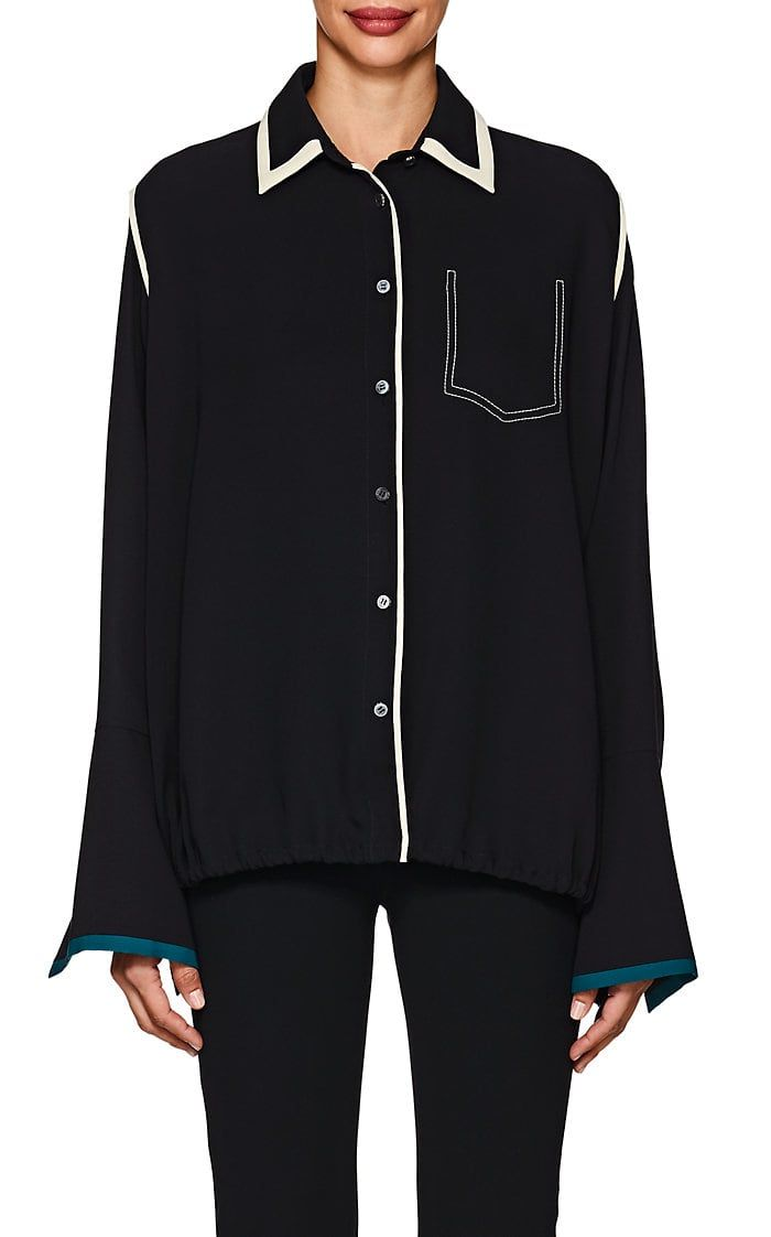 Womens Drawstring-Hem Silk Blouse Derek Lam With Credit Card Real Cheap Price Pre Order Cheap Online Buy Cheap Outlet Locations JAYPR