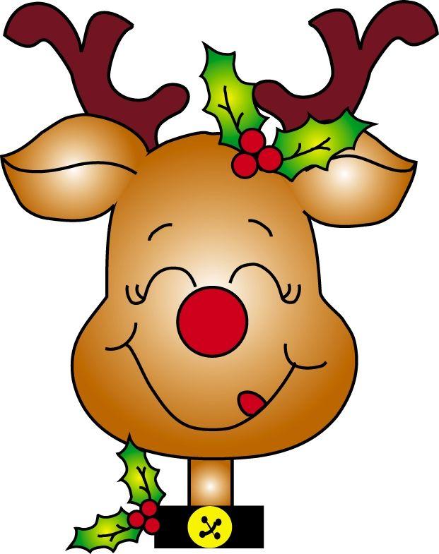 28+ Christmas deer clipart info