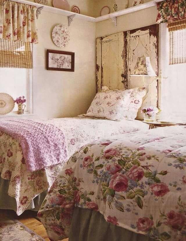 Pin de Gail Jackson en English Cottage Pinterest - decoracion recamara vintage