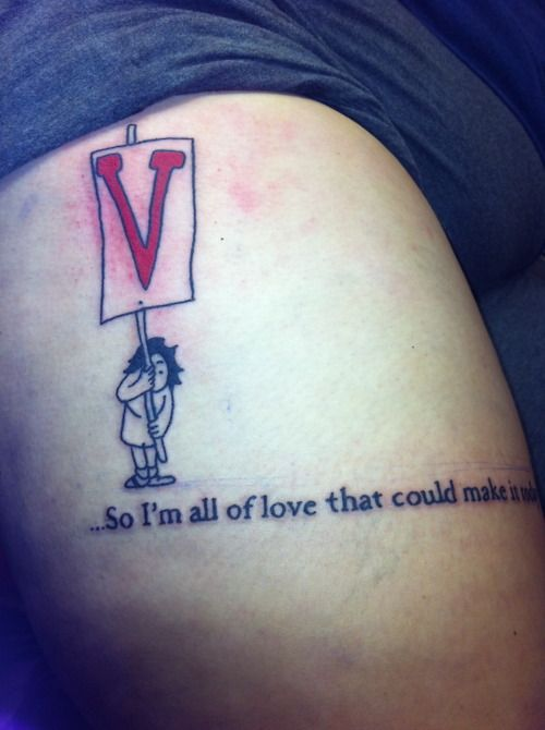 "fuckyeahtattoos:    Shel Silverstein ""love"" poem…*so im all of love that could make it today* this simple quote always sit in my mind. Sometimes I feel like i'm the only one to who keeps on showing up no matter what. I got this tattoo done by Anthony at McKenzies in Mahopac NY, he is a very talented artist that makes you feel super comfortable and will tell you his honest opinion."