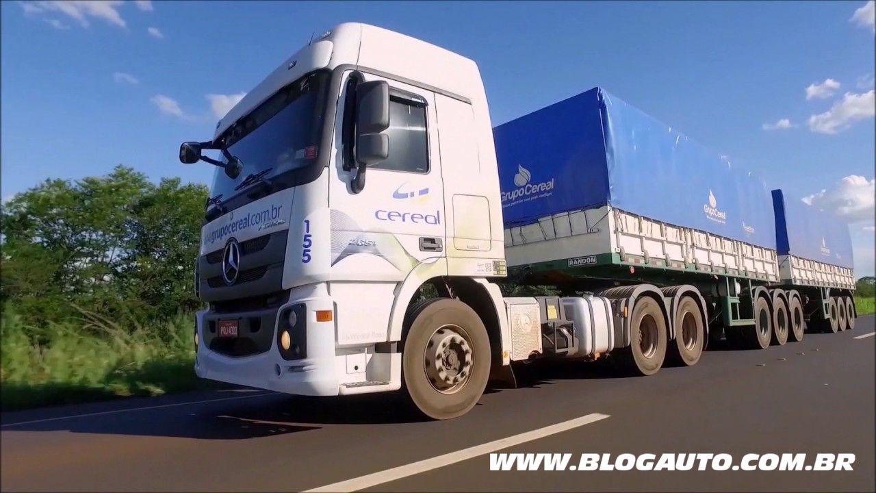 Veja o caminhão Mercedes- Benz Actros 2651 - BlogAuto  bb660c838df35