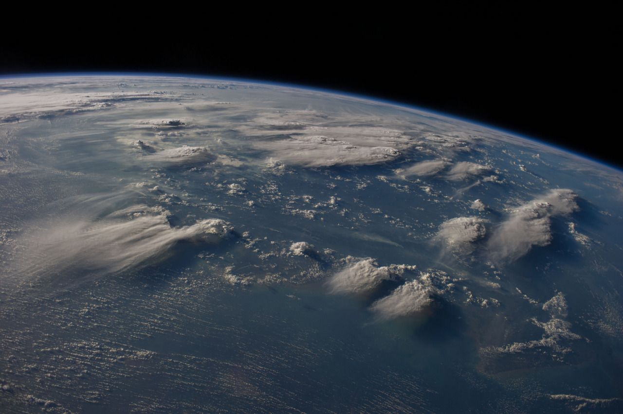 Thunderheads Near Borneo, Indonesia (NASA, International Space Station, 08/05/14) https://www.flickr.com/photos/nasamarshall/14993055838/in/faves-31371338@N04/