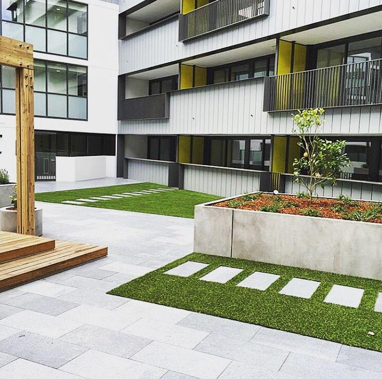Apartment Landscape Design Glamorous Design Inspiration