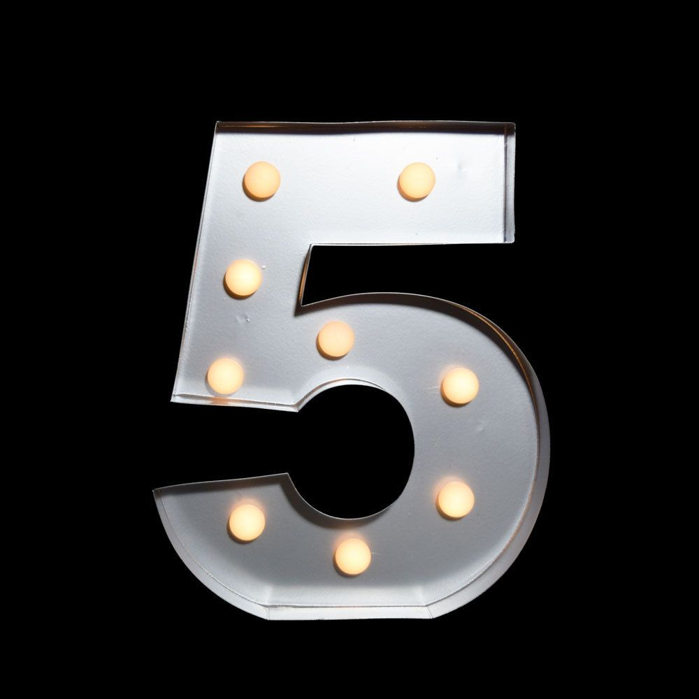 Metal Outdoor Letters And Numbers Amazing Marquee Light Symbol Number Led Metal Sign  Cool  Pinterest Design Ideas
