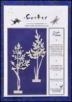 Crafty Mask: DELICATE GRASSES MASKS - SET 1 (2 DESIGNS)
