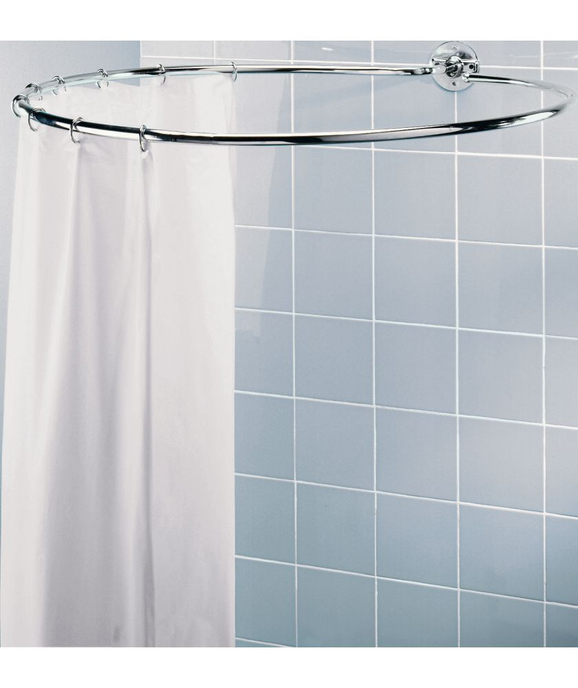 rounded shower curtain rod. Buy Chrome Circular Shower Rail At Argos.co.uk - Your Online Shop For Rounded Curtain Rod W