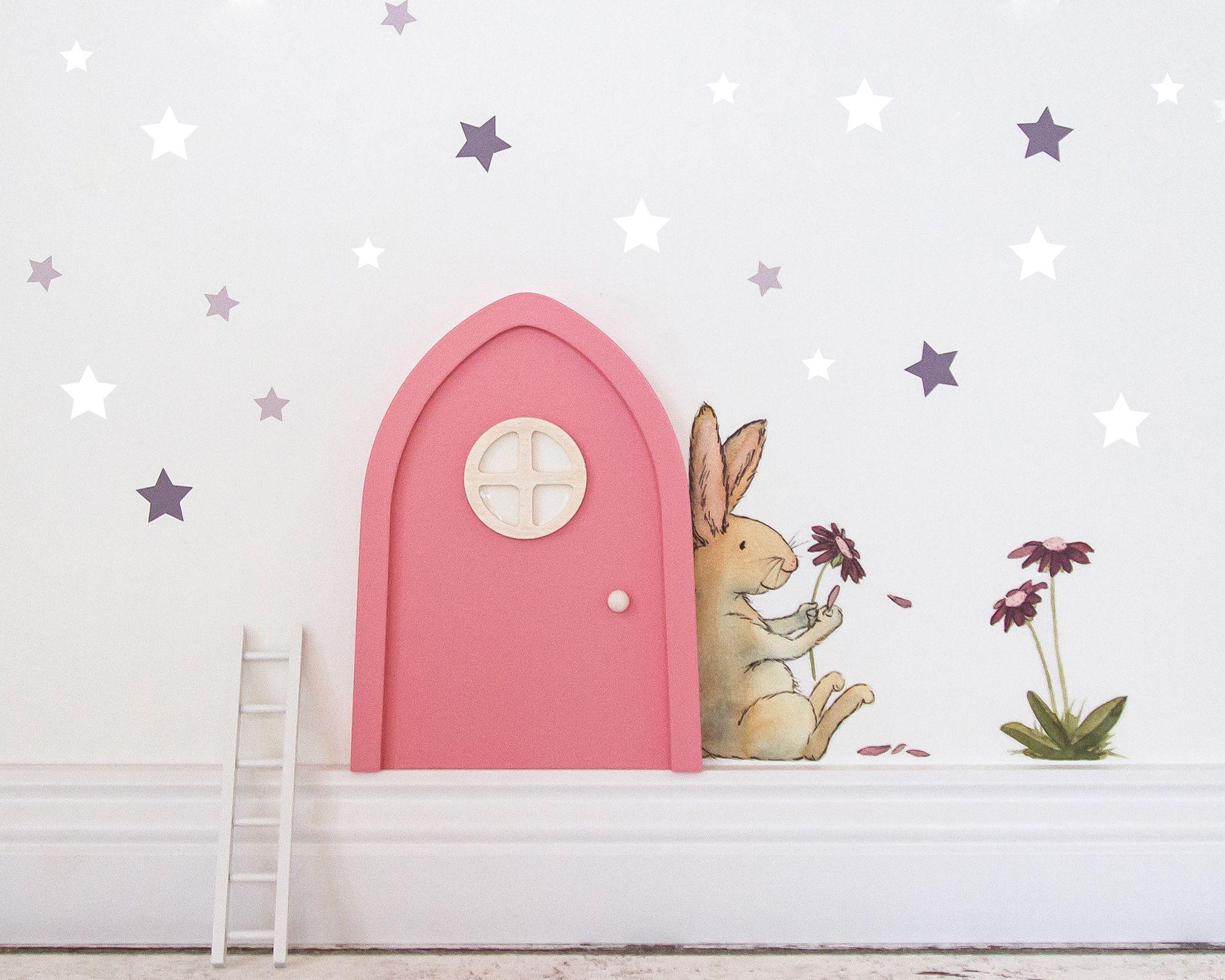 Wandtattoo Aufkleber Wandsticker Hase rabbit Kinderzimmer Träume als wäre nich .