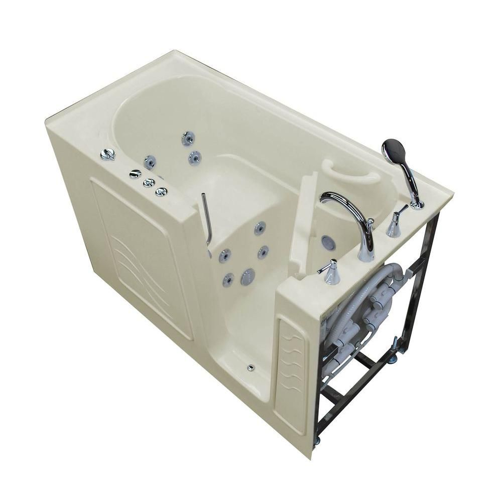 Universal Tubs Hd Series 60 In Right Drain Quick Fill Walk In