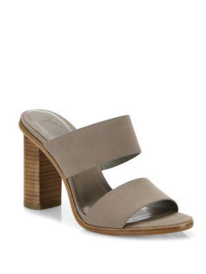 248f335417ab JOIE Banner Nubuck Block-Heel Slides.  joie  shoes  slides