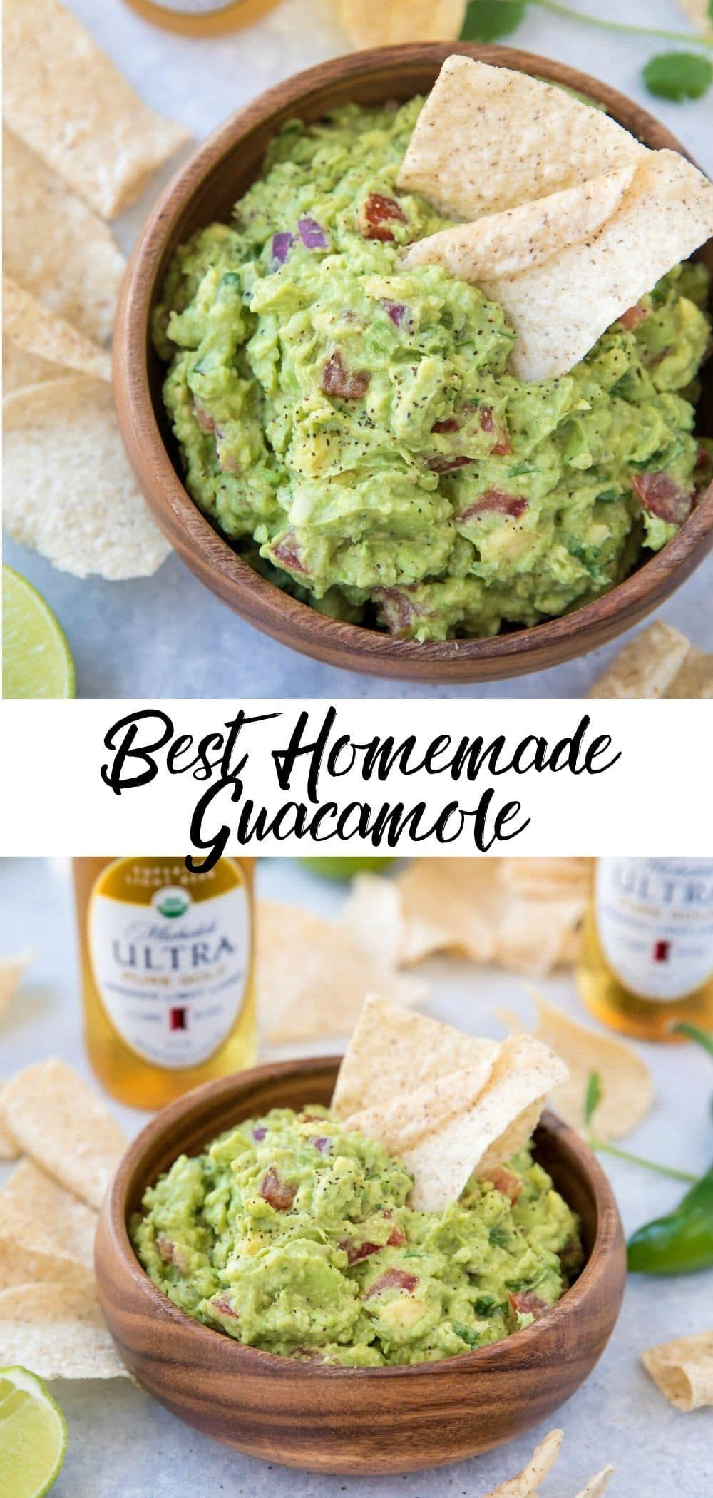 Best Homemade Guacamole {video} - Kim's Cravings