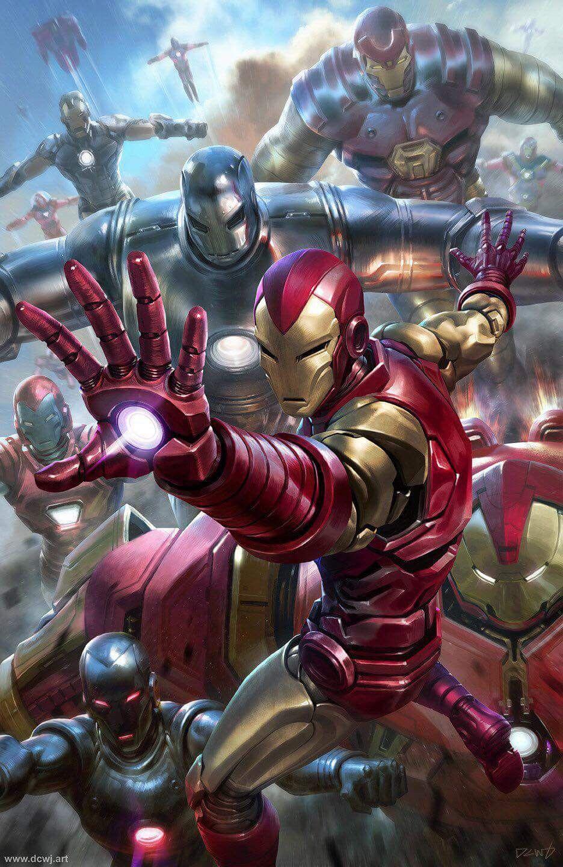Classic Iron Man Cinematografic Version アベンジャーズ 壁紙