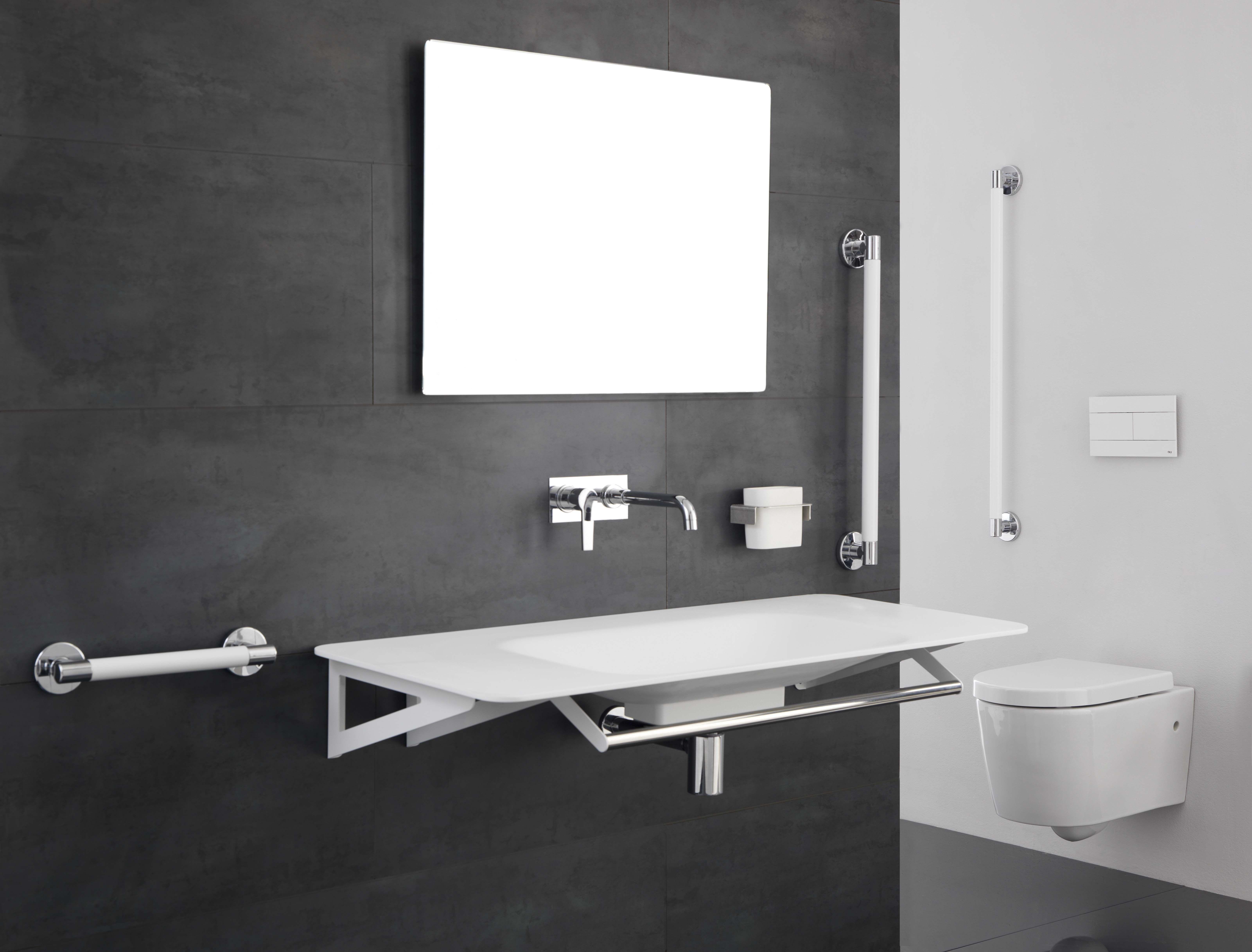 Bagno Invalidi ~ Ambiente bagno sicuro cura