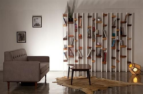 Recyled Wooden Furniture Renovate To Be Modern Bookcase