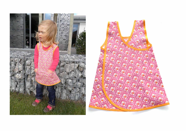 Kleid, Tunika für Kinder nähen, Kittelkleid \