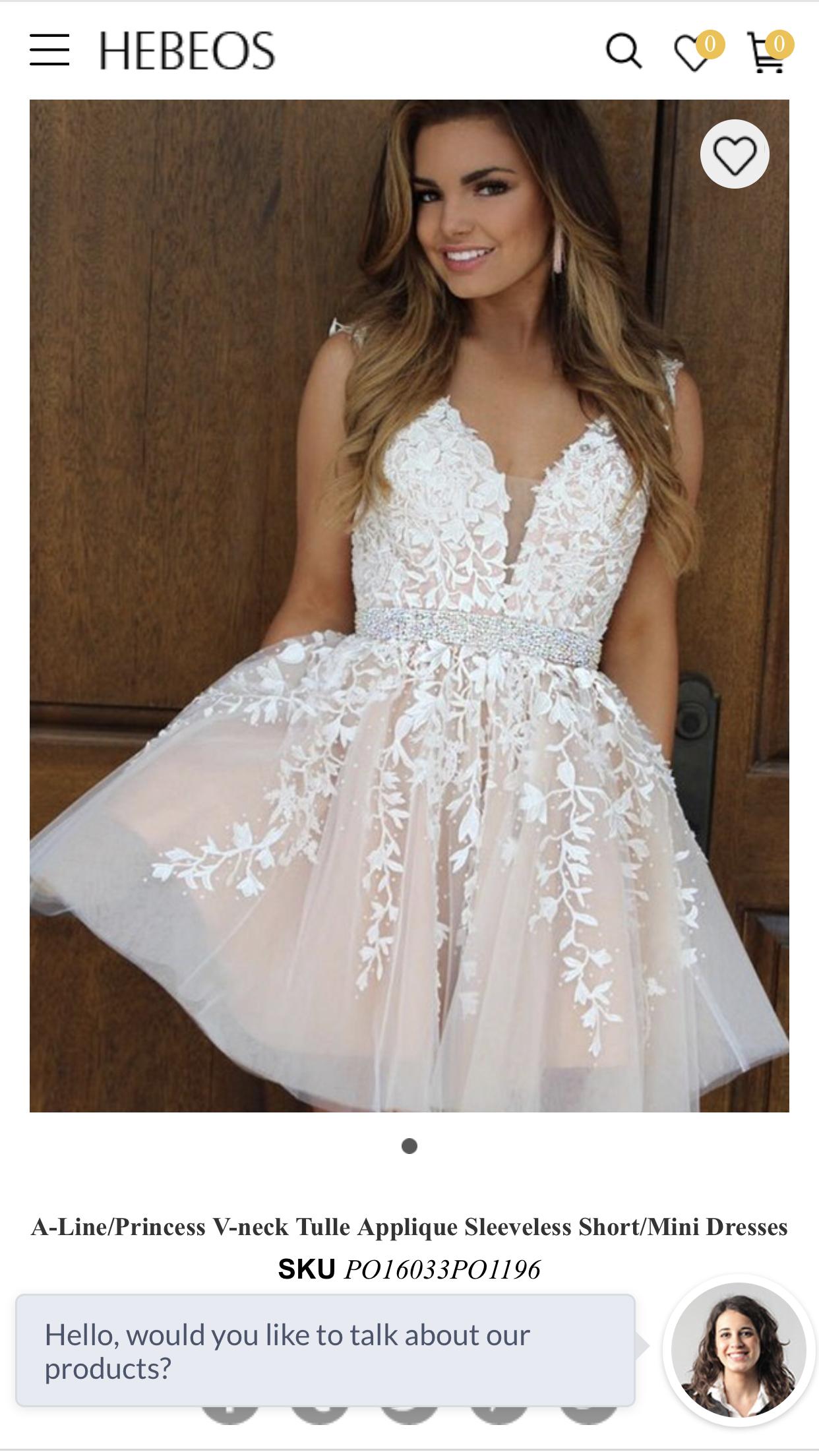 1538823d86cb Sherri Hill Prom Dresses Short, Floral Homecoming Dresses, Simple Prom Dress,  Hoco Dresses